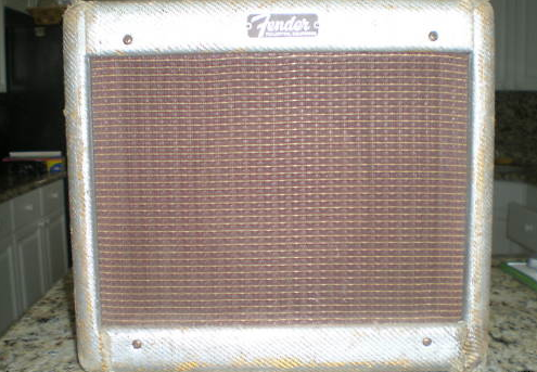 Tweed Fender Champ C 03227 Front