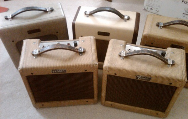 (L to R) Champion 800, Champion 600 (tv front), Wide Panel, Narrow Panel (6 and 8 inch speaker)