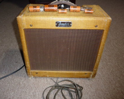 Tweed Fender Champ C 17243 Front