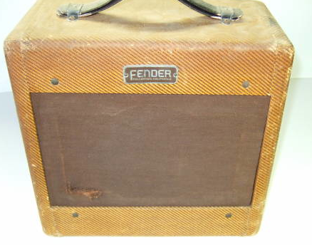 Tweed Fender Champ 4802 Front